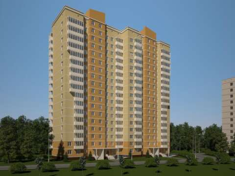 Жилой дом на пр. Кадомцева